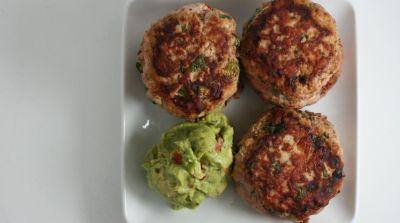 Paleo Jalapeño Chicken Burgers – Lunch Version
