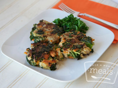Paleo Turkey and Sweet Potato Patties