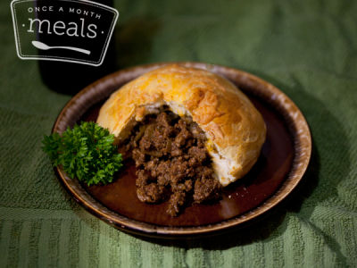 Beefy Chili Pockets