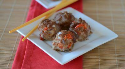 Instant Pot Teriyaki Chicken Meatballs