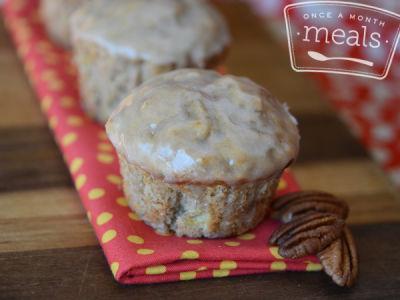 Whole Grain Banana Pecan Muffins