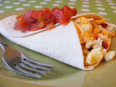 Bacon Hashbrown Breakfast Wraps