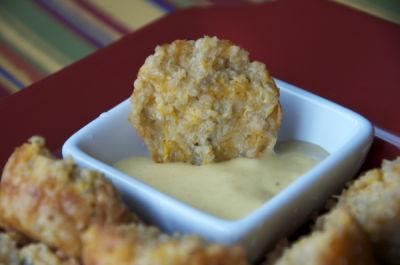 Baked Quinoa Snack Bites