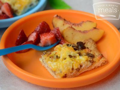 Toddler: Breakfast Pizza