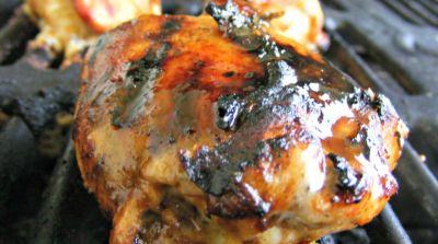 Spicy BBQ-Stuffed Chicken Breast