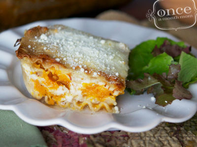 Fresh from the Garden Butternut Squash Lasagna