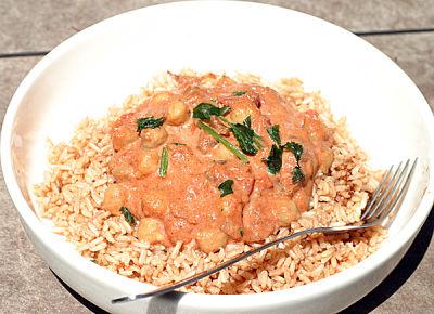 Slow Cooker Better Vegetarian Butter 'Chicken'