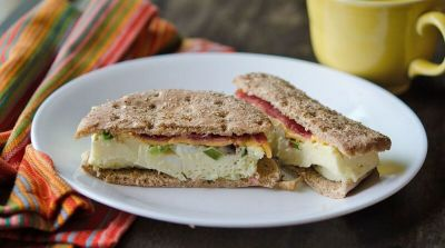 Diet OAMM: Egg White Breakfast Sandwich
