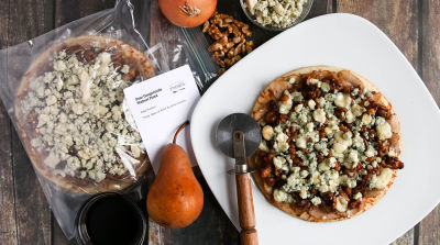 Pear Gorgonzola Walnut Pizza