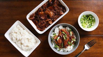 Instant Pot Honey Bourbon Chicken - Traditional Version