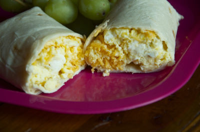 Kid Approved Breakfast Burritos