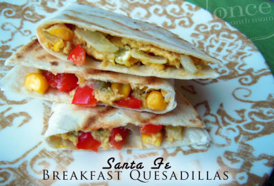 Santa Fe Breakfast Quesadillas