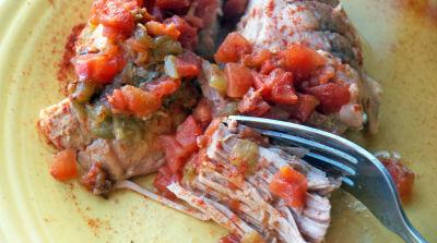 Chipotle Slow Cooker Pork Roast