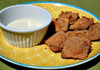 Baked Ravioli Bites