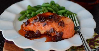 Instant Pot Cranberry Chicken