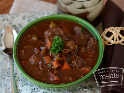 Paleo Beef Stew- Lunch Version