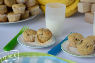 Mini Banana Pancake Muffins