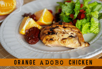 Orange Adobo Chicken