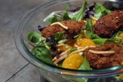 Vegan Chickpea Tender Mandarin Asian Salad Fix'ns