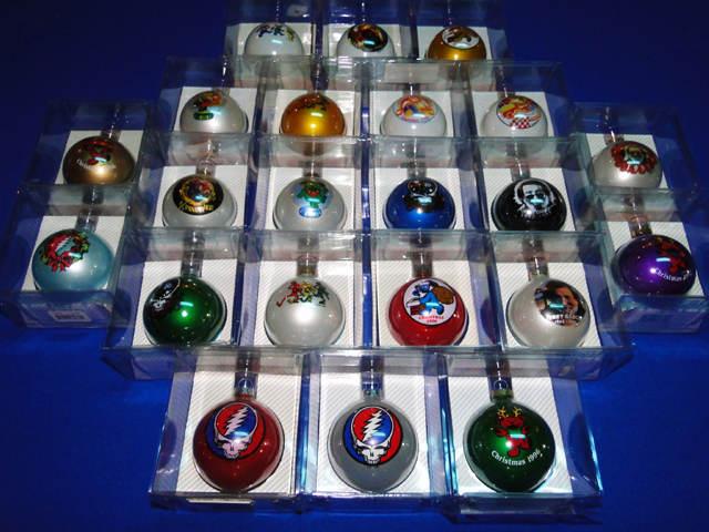 Grateful Dead Christmas Ornament.Quixotes True Blue Shop