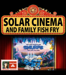 Solar Cinema featuring Smurfs: The Lost Village