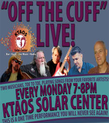 """Off the Cuff"" LIVE feat. ""Bob Dylan"" w Jimmy Stadler & Stacey Sanders"