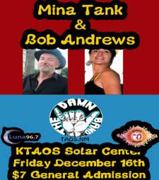 Mina Tank & Bob Andrews