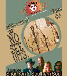 The NoSeeUms featuring Shannon & Southern Soul