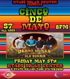 Cinco De Mayo with Danny Duran and the Slo