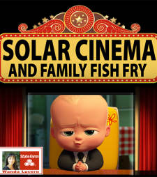 "Solar Cinema featuring ""Baby Boss"""