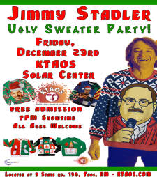 Ugly Sweater Party with Jimmy Stadler