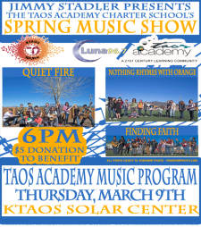 Taos Academy Charter Schools Spring Music Show