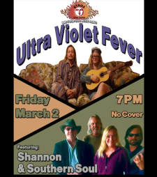 Ultra Violet Fever and Shannon & Southern Soul