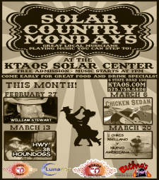 Solar Country Mondays