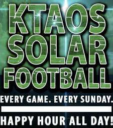 KTAOS Solar Football
