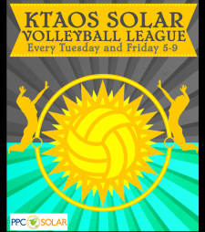KTAOS Solar Volleyball League