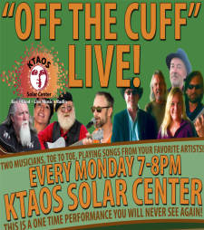 """Off the Cuff"" LIVE feat. music of ""Steve Earle"" as performed by Stacey Sanders and Willie Hutton"