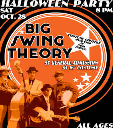 Halloween Party w/Big Swing Theory