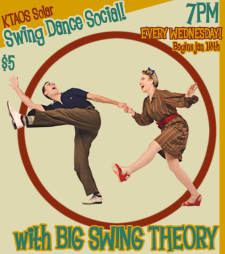KTAOS Solar Swing Dance Social feat Big Swing Theory!