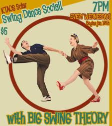 KTAOS Solar Swing Dance Social feat Big Swing Theory!
