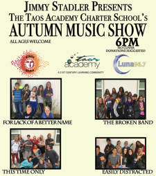Taos Academy Autumn Music Show