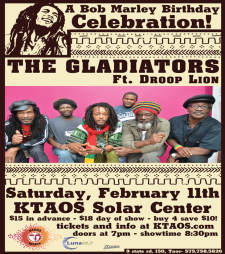 Gladiators ft. Droop Lion - Bob Marley Birthdsy Bash