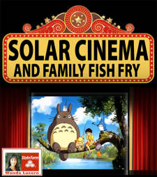 "Solar Cinema featuring ""My Neighbor Totoro"""