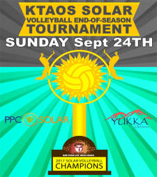 KTAOS Solar Volleyball League End-of-Season Tournament
