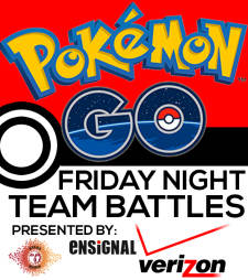 Pokemon GO Friday Night Team Battles