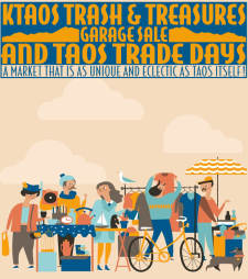 KTAOS Trash & Treasures Garage Sale and Taos Trade Days