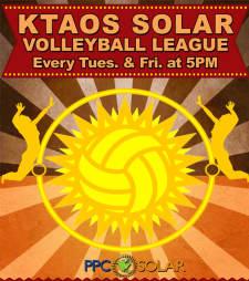 KTAOS Solar Volleyball League
