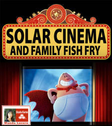 Solar CInema featuring Captain Underpants