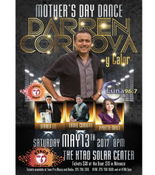Mothers Day Dance with Darren Cordova Y Calor