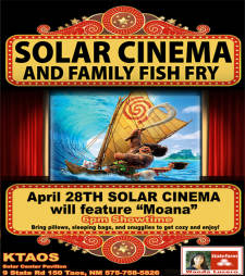"Solar Cinema featuring ""Moana"""